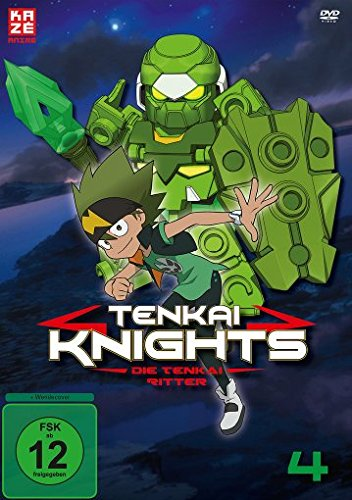 Tenkai Knights, DVD