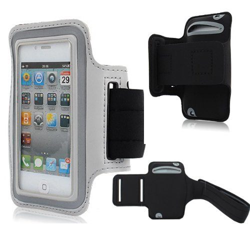Moon Monkey Easefit Sweat-Proof Neoprene Sports Armband For Iphone 5, 5S, 5C And Ipod Touch 5Th Generation (Grey)