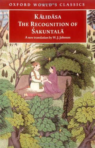 The Recognition of 'Sakuntala: A Play in Seven Acts...