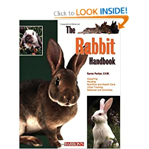 The Rabbit Handbook (Barron's Pet Handbooks) [Paperback]