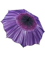 Galleria Purple Daisy Stick Umbrella
