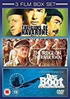 The Guns of Navarone (1961) / The Bridge on the River Kwai (1957) / Das Boot (1981) [DVD]