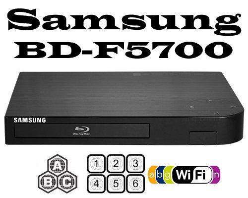 SAMSUNG CODEFREE BD-F5700 Wi-Fi MultiZone Region Code Free DVD 012345678 PAL/NTSC Blu Ray Zone A/B/C. Divx Xvid... Black Friday & Cyber Monday 2014