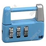( LittleSomething ) 3 Digit Resettable Rotational Combination Lock Padlock - Color Assorted =====&===== (Toys / Hobbies > lifestyle gadgets)