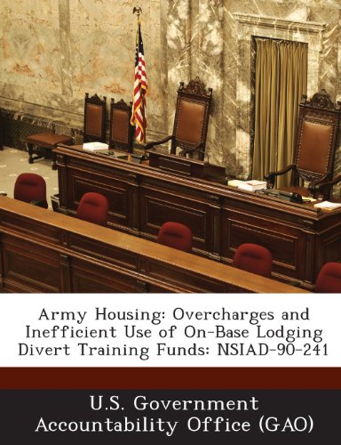 Army Housing: Overcharges and Inefficient Use of On-Base Lodging Divert Training Funds: Nsiad-90-241