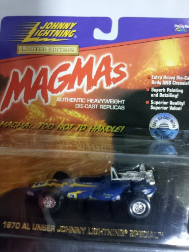 "Magmas Johnny Lightning ""1970 Al Unser Johnny Lightning Special"" Die Cast"