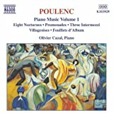 Poulenc: Piano Music Vol. 1 - Eight Nocturnes; Promenades; Three Intermezzi