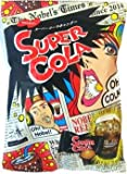 Nobel Super Soda/lemon/cola Candy, 3.1-ounce Bags (Pack of 2) [Japan Import] - Sour and Fizzy Tastes (Cola)