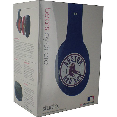 Boston Red Sox Logo High Definition Dj Headphone