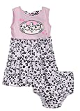 (642421R2) Batman Baby Girls Fashion Dress and Diaper Cover Set in Pink Size: 24 MO