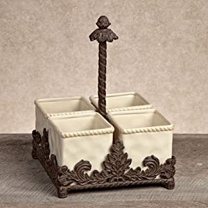 Amazon.com - Ceramic Flatware Caddy - Kitchen Utensil Caddies