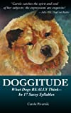 Doggitude: What Dogs REALLY Think--In 17 Sassy Syllables