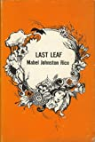 img - for Last leaf (Contemporary poets of Dorrance series) book / textbook / text book
