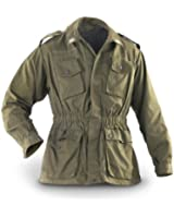 Genuine Italian Army Issue Surplus Military Combat Field Jacket Olive Drab GRADE1