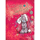 Me to you - Tatty Teddy - Christmas Card - For a very special Goddaughter