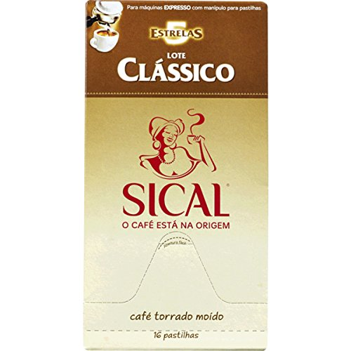 Order SICAL - CLASSICO - Single Serving ESE 44mm Pods - 4 x 16 ESE pods (TOTAL = 64 ESE pods) by SICAL Cafè a NESTLÉ PORTUGAL Company