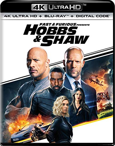 4K Blu-ray : Fast & Furious Presents: Hobbs & Shaw (2 Discos)