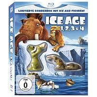 Ice Age 1, 2, 3 & 4 (Limitierte Sonderbox mit Ice Age Figuren!) [Blu-ray]