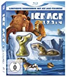Ice Age 1-4 Boxset inkl. Ice Age-Figuren [Blu-ray]