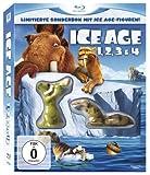 DVD & Blu-ray - Ice Age 1, 2, 3 & 4 (Limitierte Sonderbox mit Ice Age Figuren!) [Blu-ray]