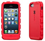 Speck Products SPK-A1860 ToughSkin Case with Belt Clip for iPhone 5 - Retail Packaging - Pomodoro Red/Black