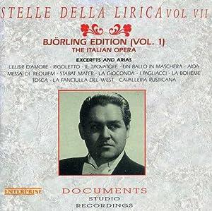 Jussi Bjorling - Stelle Della Lirica Vol. VII - Bjorling
