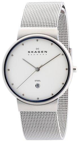 SKAGEN (スカーゲン) 腕時計 basic steel mens 355LSSW ケース幅: 34mm メンズ [正規輸入品]