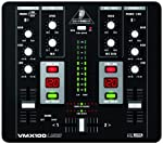 Behringer VMX100USB Professional 2-Channel DJ Mixer with USB/Audio Interface by Behringer