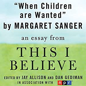 When Children are Wanted Audiobook