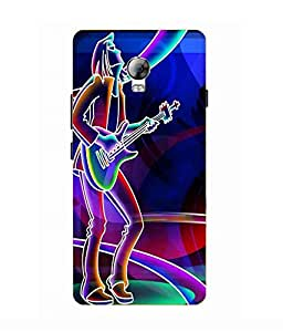 Lenovo Vibe P1 Printed Back Cover By Make My Print