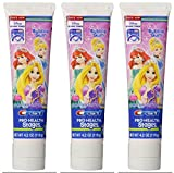 Crest Pro-Health Stages Disney Princess Kid's Toothpaste 4.2 Oz (Pack of 3)