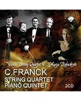フランク:ピアノ五重奏曲ヘ短調/弦楽四重奏曲ニ長調(2枚組)