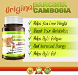 Original Garcinia Cambogia Extract 60 Veggie Capsules, 500 Mg Per Capsule, 60% HCA Extract