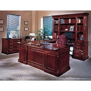 Keswick Executive U-Shape Desk Office Suite Orientation: Left
