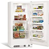 Frigidaire White Manual Defrost Upright Freezer
