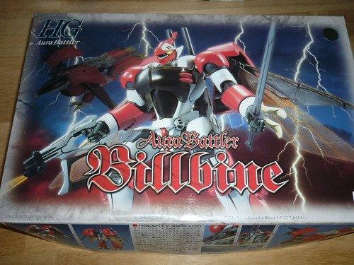 Aura Battler Billbine (HG) (1/72 scale Plastic model) Bandai [JAPAN]
