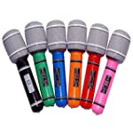 VORCOOL 6pcs Inflatable Microphone 24...