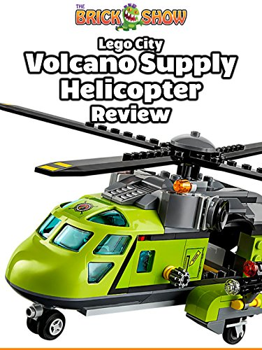 LEGO City Volcano Supply Helicopter Review (60123)