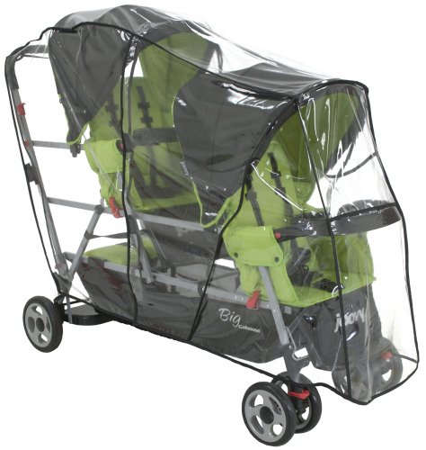Joovy Big Caboose Rain Cover back-215578