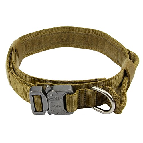 Tactical Dog Collar Coyote Brown