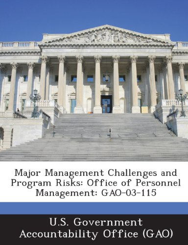 Major Management Challenges and Program Risks: Office of Personnel Management: Gao-03-115