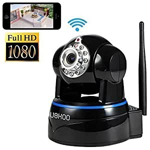 IP Camera, Uokoo 1080p WiFi Security Camera