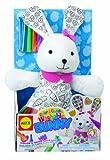 ALEX® Toys - Craft Color & Cuddle - Bunny -Soft Toy 69WR