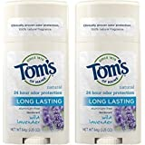 Deodorant Stick, Long Lasting Lavender 2.25 oz (Pack of 2)