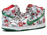 [ナイキ]NIKE DUNK HIGH PREMIUM SB CONCEPTS UGLY CHRISTMAS SWEATER GREY/GREEN/RED...