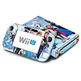 Frozen Decorative Decal Cover Skin for Nintendo Wii U Console and GamePad