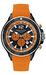 Nautica Men's Quartz Watch A22626G with Rubber Strap