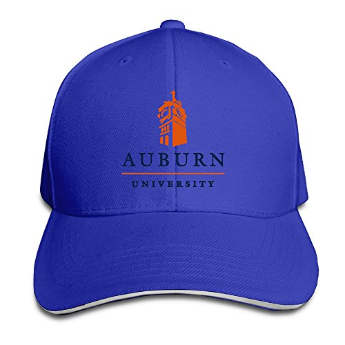 Hotgirl4 Adult Auburn University Sandwich Bill Baseball Cap RoyalBlue