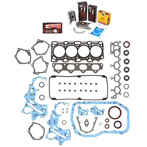 Evergreen Engine Rering Kit FSBRR5040\0\0\0 99-05 Mitsubishi Eclipse Chrysler Dodge 2.4 4G64 Full Gasket Set, Standard Size Main Rod Bearings, Standard Size Piston Rings (Engine Parts For Eclipse compare prices)