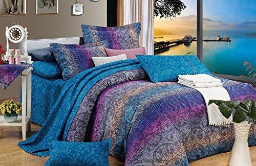 直降104!5星高档纯棉床品3件套,给你卧室带来一道艳丽如画的风景